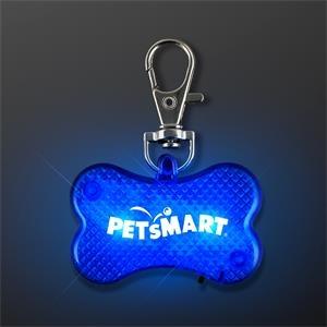 LED Dog Bone Safety Pet Light
