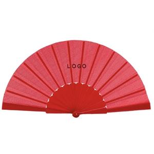 Giveaway Fabric Folding Hand Fan