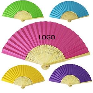 Giveaway Paper Folding Hand Fan