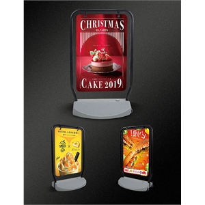Outdoor Display Poster Board Water and Wind Proof Two Sides