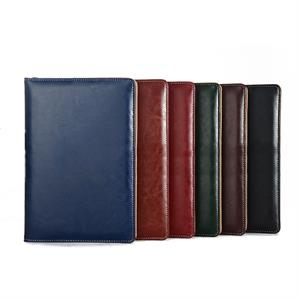 Leather Large Desk Journal Ruled Notebook