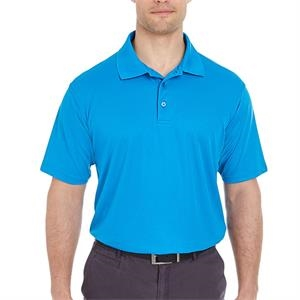 UltraClub 4.4 oz. 100% Polyester Mesh Pique Cool & Dry Men's