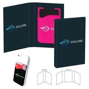 Compact Smart Wallet in Custom Full-Color Booklet