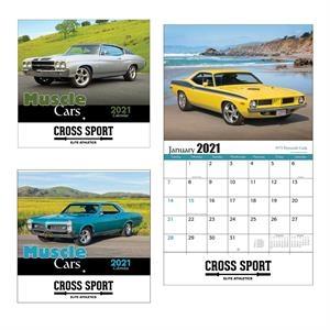 Custom Made Vintage Model Cars Wall Calendar