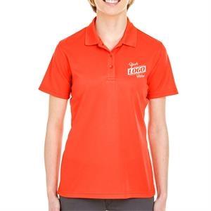 UltraClub 4.4 oz. 100% Polyester Mesh Pique Ladies' Polo