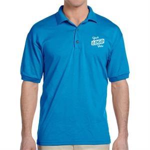 Gildan Dryblend 5.6 oz 50/50 Cotton/ Polyester Polo T-Shirt