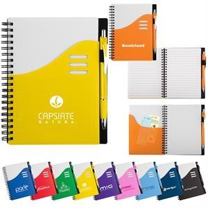 Large Wave Pocket Journal Notebook