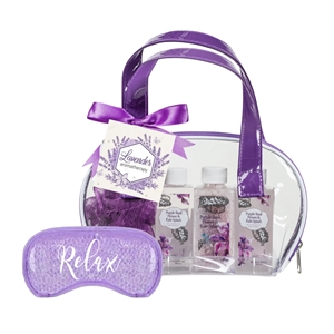 Purple Bath and Spa Gift Bag