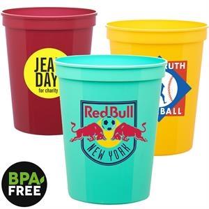 16 oz. USA Made Stadium Cups w/ Custom Logo Stadium Cups
