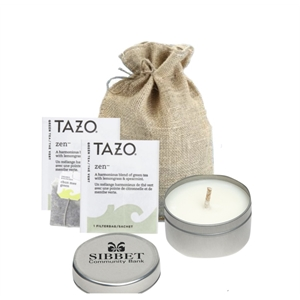 Tranquility Time - Tea and Candle Set