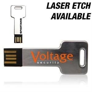 Chrome Key Shaped micro USB Flash Drives Custom USB Drive