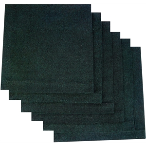 ATMOS GREEN RECYCLED COTTON NAPKINS - GREEN
