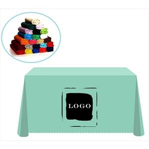 Solid Color Polyester Table Cover Tablecloth