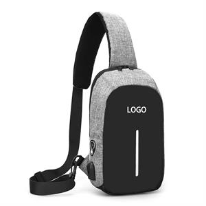 Chest Bag Outdoor Leisure Bag Usb