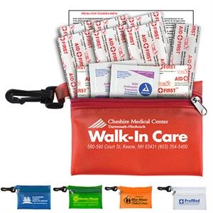 Troutdale - 13 Piece First Aid Kit Zipper Pouch