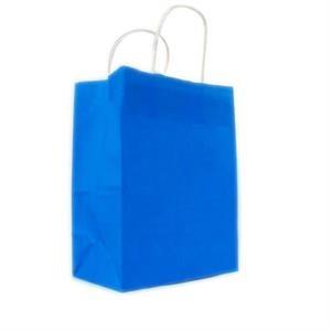 Customized Square Bottom White Paper Tote Bag