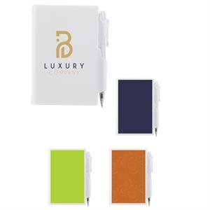 Custom Full-Color Notepad with Pen