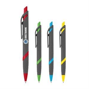 Custom Full-Color Soft-Touch Rubber Pen