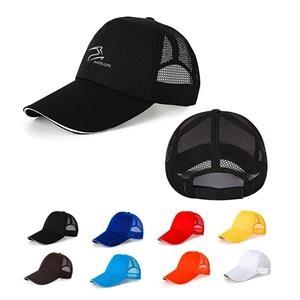 Adjustable Snapback Mesh Trucker Hat