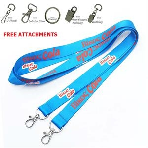 Open-ended Lanyard w/ Full Color Sublimation Double ended