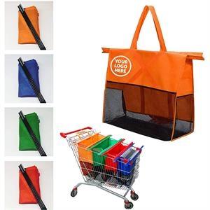 Supermarket Trolley Shopping Bags 4 Set