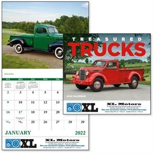 Stapled Treasured Trucks Vehicle 2022 Appointment Calendar