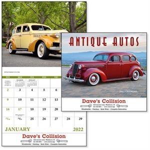 Stapled Antique Autos Vehicle 2022 Appointment Calendar