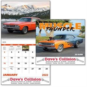 Spiral Muscle Thunder Vehicle Appointment Calendar