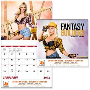 Stapled Fantasy Builders Glamour 2022 Appointment Calendar