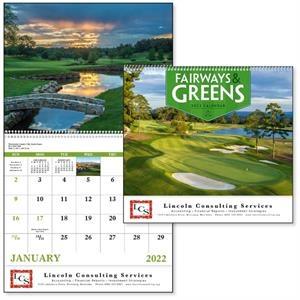 Spiral Fairways & Greens Lifestyle 2022 Appointment Calendar