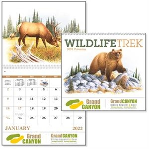 Wildlife Trek Spiral  2022 Appointment Calendar