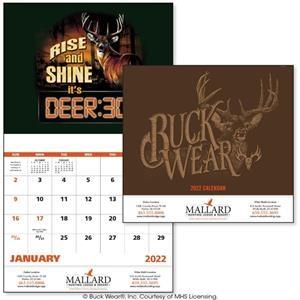 Buck Wear® Stapled 2022 Calendar
