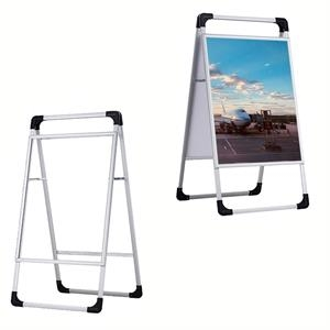 A-frame Aluminum Alloy Poster Display Board Stand