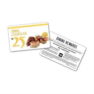 Dining Rewards Card