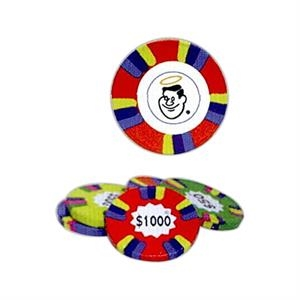 Custom Assorted Color And Denominations Milk Chocolate Poker Chips