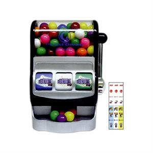 "Gumballs For 6 1/12"" X 4"" X 3"" Custom Jackpot Slot Machine"