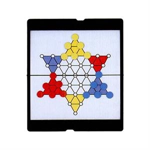 Chinese Checkers Game With Foldable Magnetic Board