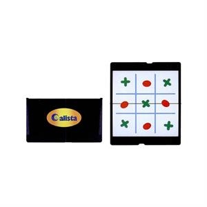Tic-tac-toe Game With Foldable Magnetic Board