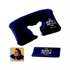 Blue - Inflatable Neck Pillow