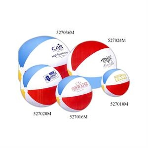 Inflatable Heavy Gauge Vinyl Classic Beach Ball, 20""