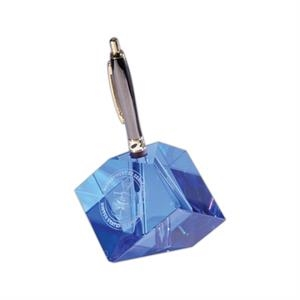 Optical Crystal Pen Cube Award. Pen Included
