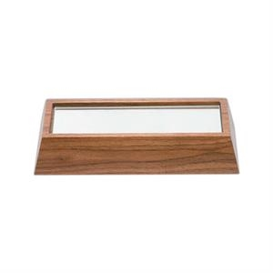 "7 3/4"" X 3 5/8"" X 1 1/2"" - Solid Walnut Wooden Bases By Cr"