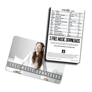 Eco Friendly Music Card