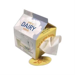 Sniftypak (tm) - Facial Tissue Novelty Shaped Tissue Box