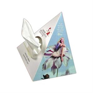 Sniftypak (tm) - Novelty Pyramid - Tricor - Facial Tissue Box Is Pyramid Shape