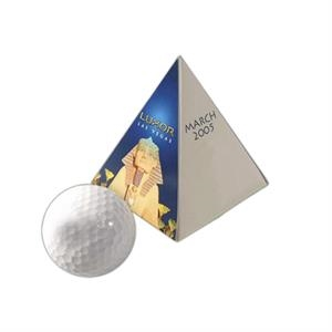 Yourbrandgolf (r) - 1-ball Pyramid - Coors Light - Promotional Golf Packaging For Your Next Gold Promotion!