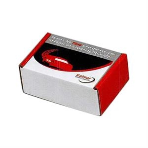 "1 Color Copy On Lid Only - B-flute Corrugated Tuck Box, 7"" X 5"" X 3"""