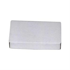 1 Color Lid - E-flute Box This Material Is A Finer Flute And Is Stocked In White Material