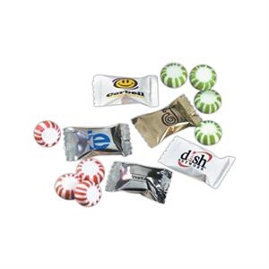 Starlight - 5-15 Working Days; Standard - Starlight Peppermint - Wrapped Mints, Choice Of Peppermint, Spearmint Or Assorted Flavored Hard Candy