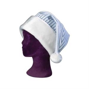 Pinstripe Santa Hat. Great Holiday Gift For Baseball Fans/corporate Titans! Blank
